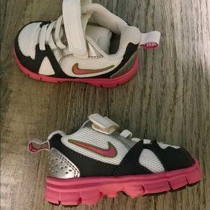Brand new baby Nike sneakers.